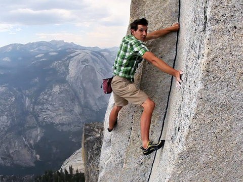 Alex Honnold and fear